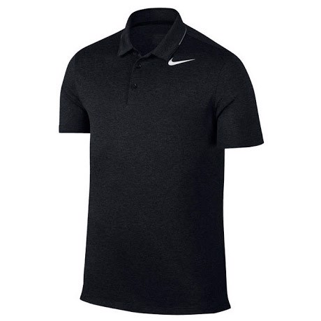 Áo golf nam AS NIKE MDN TR DRY TIPPED POLO 833064-010 | Nike