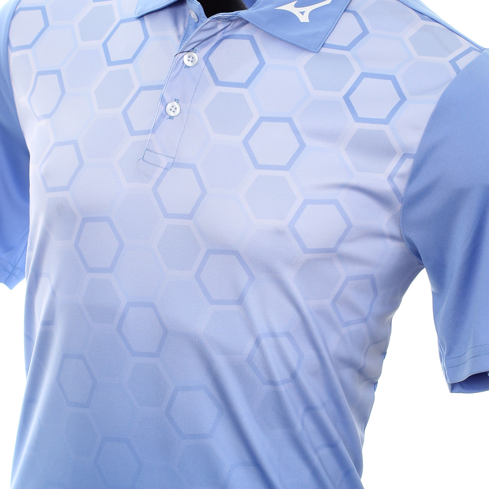 Áo golf nam tay ngắn Gradient Hexagon Lightweight 52SA000219 | Mizuno