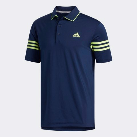 Áo golf nam tay ngắn ULTIMATE365 BLOCKED FJ9823 | ADIDAS