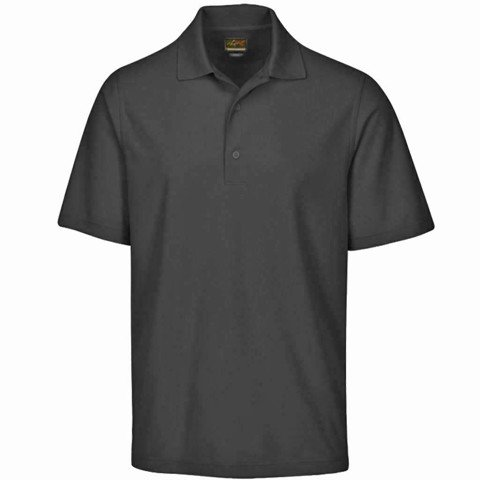 Áo golf nam tay ngắn Protek Micro Pique Polo Black | Greg Norman