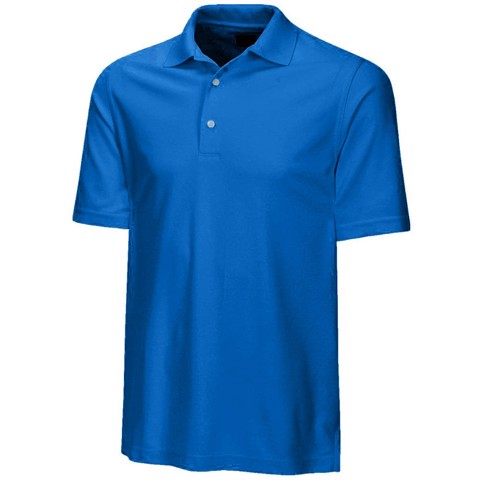 Áo golf nam tay ngắn Protek Micro Pique Polo - Empire Blue | Greg Norman