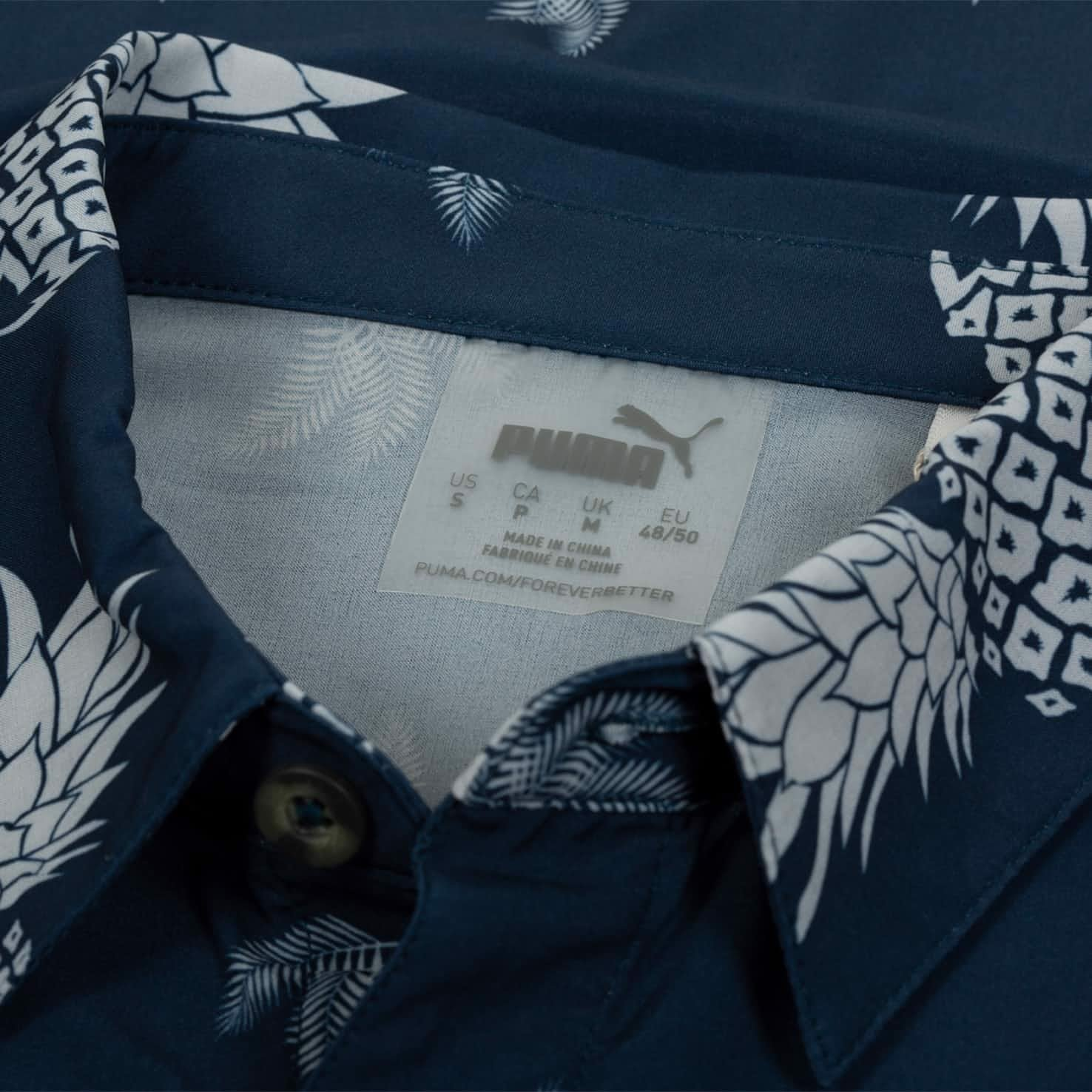 Áo sơ mi Islands Shirt - Dark Denim 596394 01 | Puma