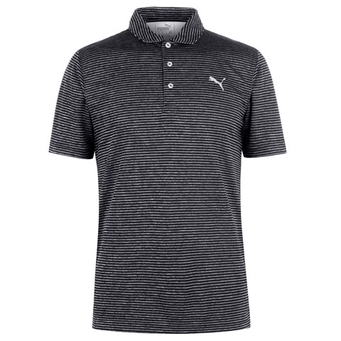 Áo thun golf Performance Stripe Polo Peacoat Heathe 579319 01 | Puma