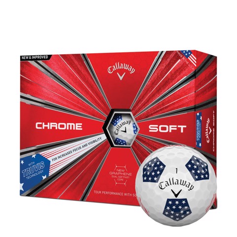 Bóng golf CHROME SOFT TRUEVIS 18 | Callaway