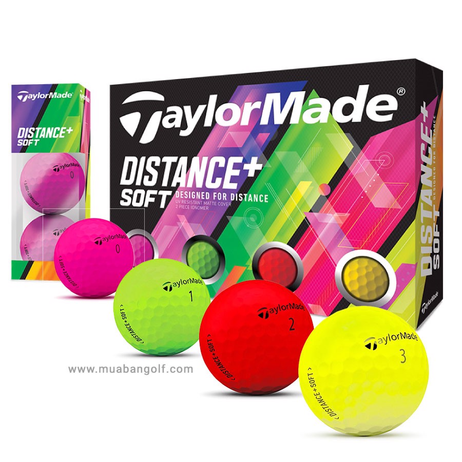 Bóng golf Distance+ Soft Multi Colors | TaylorMade