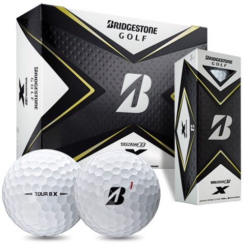 Hộp 12 bóng golf TOUR B X version 2020 | BridgeStone