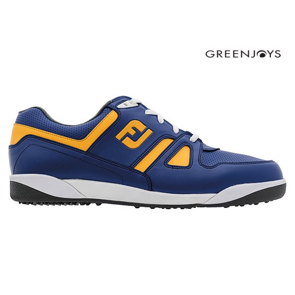 Giày Golf Nam GreenJoy FJ 45171 BLUE/MELON Extra Wide | FootJoy