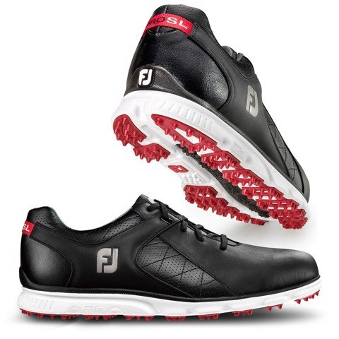 Giày golf nam PRO SL BLACK/WHITE 53594 Extra Wide | FootJoy