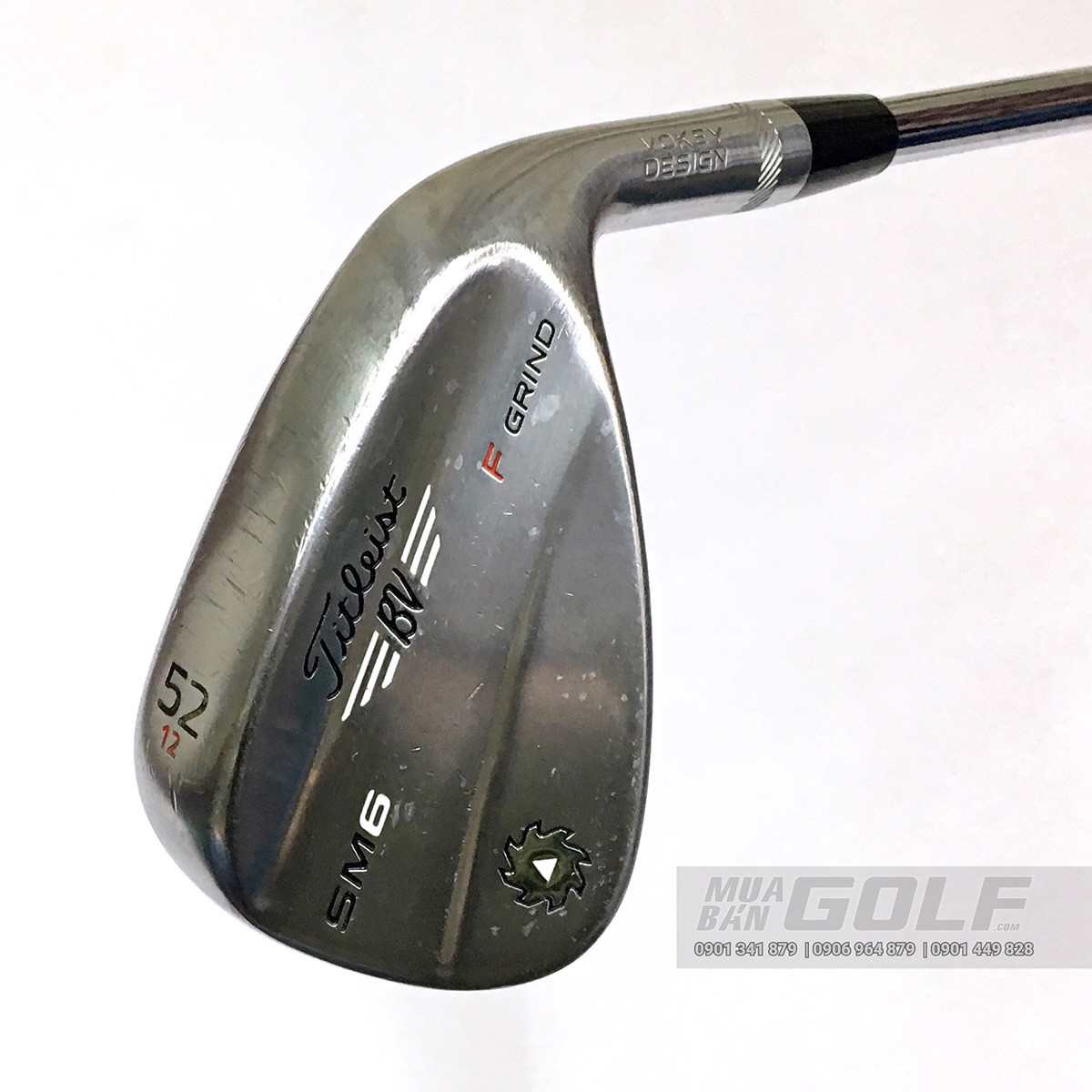 GAY GOLF WEDGE TITLEIST BV SM6 F GRIND LOFT 52 12 SCW FT6