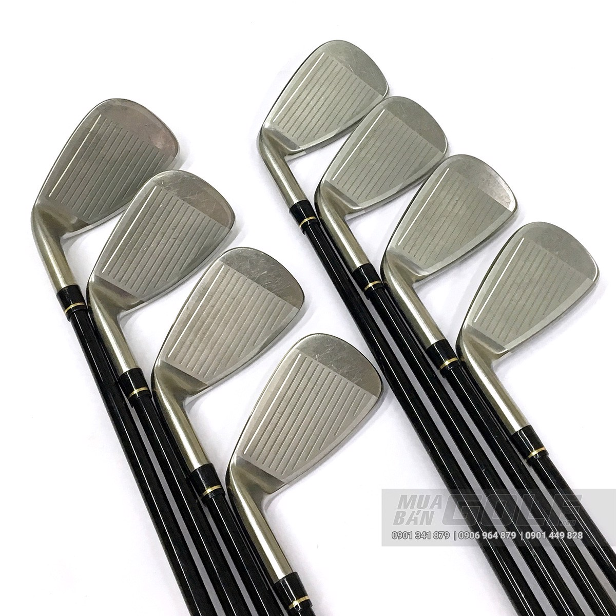Bộ gậy golf sắt cũ HONMA AMAZING SPEC Feather & Feather R SCI HM9