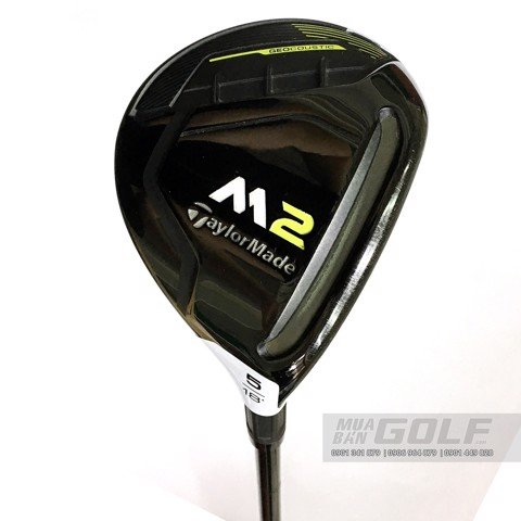 gậy golf Fairway cũ TAYLORMADE M2 2017 FW3 SR SCF TM5
