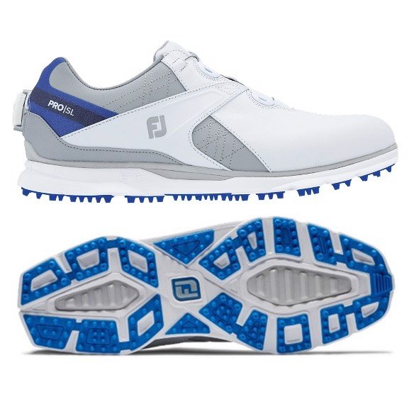 Giày golf nam FJ PRO SL 53822S BOA Spikeless | FootJoy