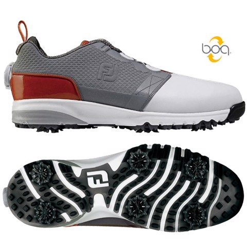 Giày golf nam IS CONTOUR FIT BOA CHARCOAL 54168 Extra Wide | FootJoy