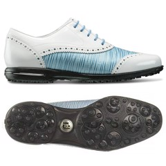 Giày golf nữ FJ HM TAILORED BLUE LINEN 91687 | FootJoy