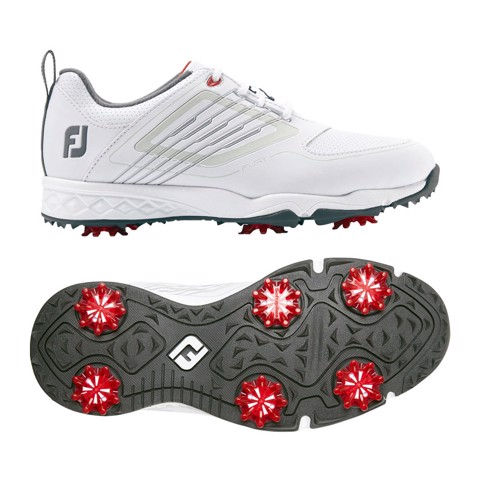 Giày golf junior JS FURY WHITE/SILVER 45027 | FootJoy