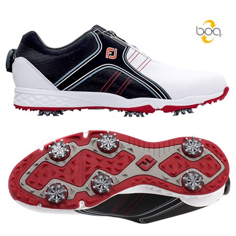 Giày golf nam HF ENERGIZE BOA WHITE/BLACK 58142 Extra Wide | FootJoy