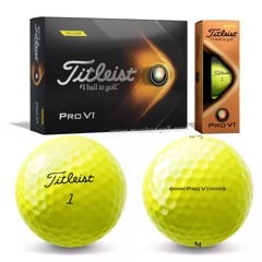 Hộp 12 bóng golf Pro V1 2021 Yellow T2127S | Titleist