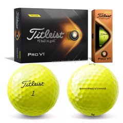 Hộp 12 bóng golf Pro V1 2021 Yellow | Titleist