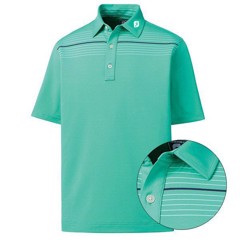 Áo golf Stretch Lisle Engineered Chest Pinstripe 93559 | FootJoy