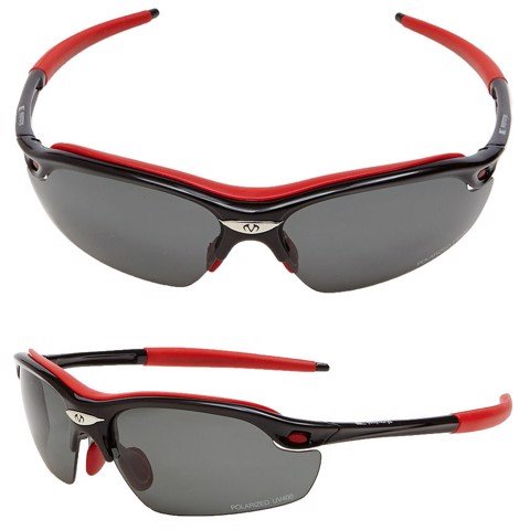 Kính Polarized UV400 040P BLACK/ RED | FeelMorys