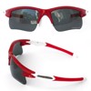 Kính Polarized UV400 047P RED/WHITE | FeelMorys