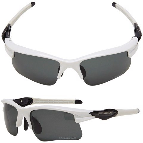 Kính Polarized UV400 047P WHITE/BLACK | FeelMorys