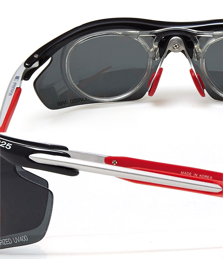Kính Polarized UV400 0025P BLACK/ RED | FeelMorys