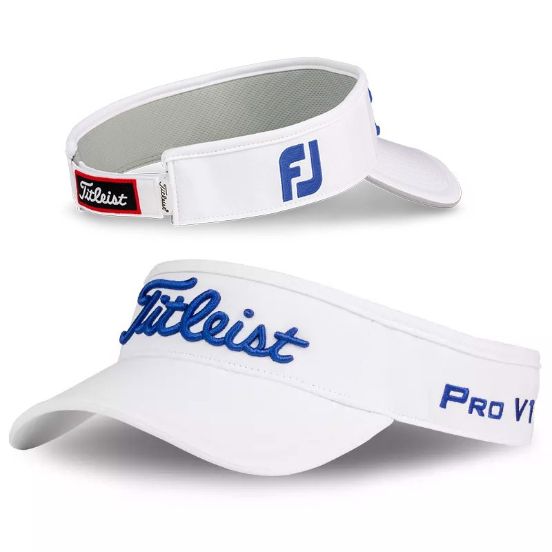 Nón nửa đầu Tour Performance Visor TH8VTPW-P06 WHITE | ROYAL | Titleis