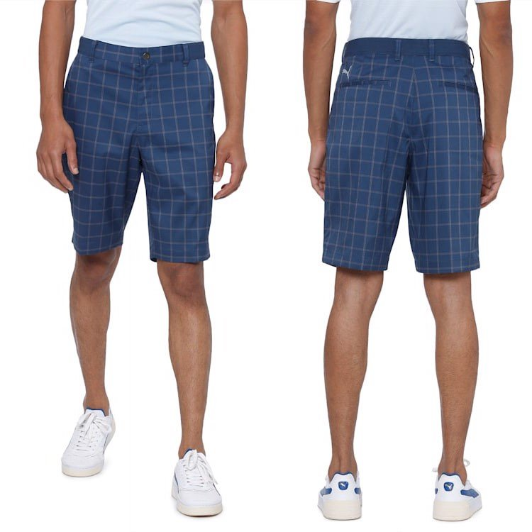 Quần short sọc Plaid Short 595809 | Puma