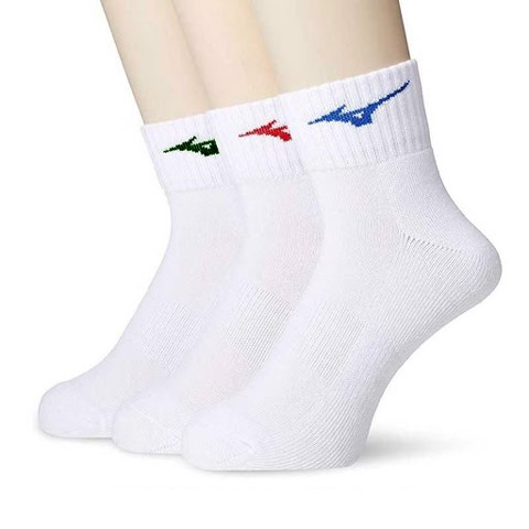 Combo 3 đôi vớ golf Quarter Crew Golf Socks 3 Pair Color | Mizuno
