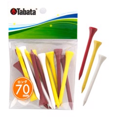 Tee golf gỗ sơn màu Pro Slim Color Long GV0507 70mm | Tabata