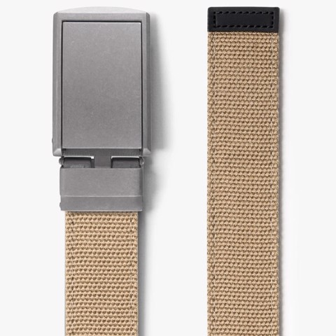 Thắt lưng Burlap Canvas Belt with Zinc Buckle | SLIDEBELTS