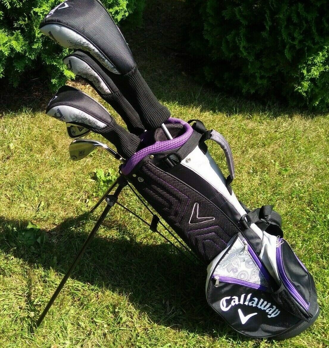 Bộ gậy golf Full set Callaway X Junior Hot 8PC 9-12 GIRL IR JV