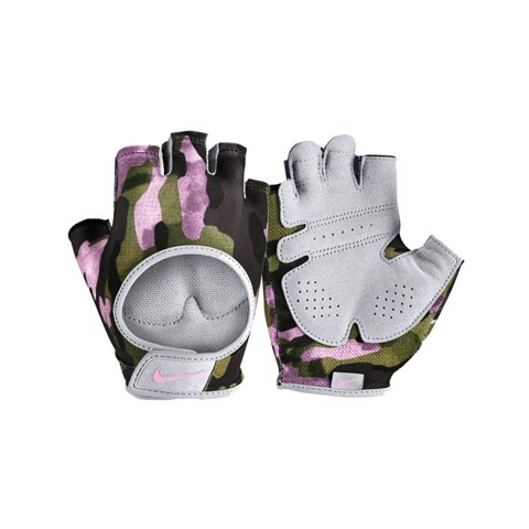 Nike - Găng tay thể thao nữ Women Printed Gym Ultimate Fitness Gloves Club Rise EQ21-N.74