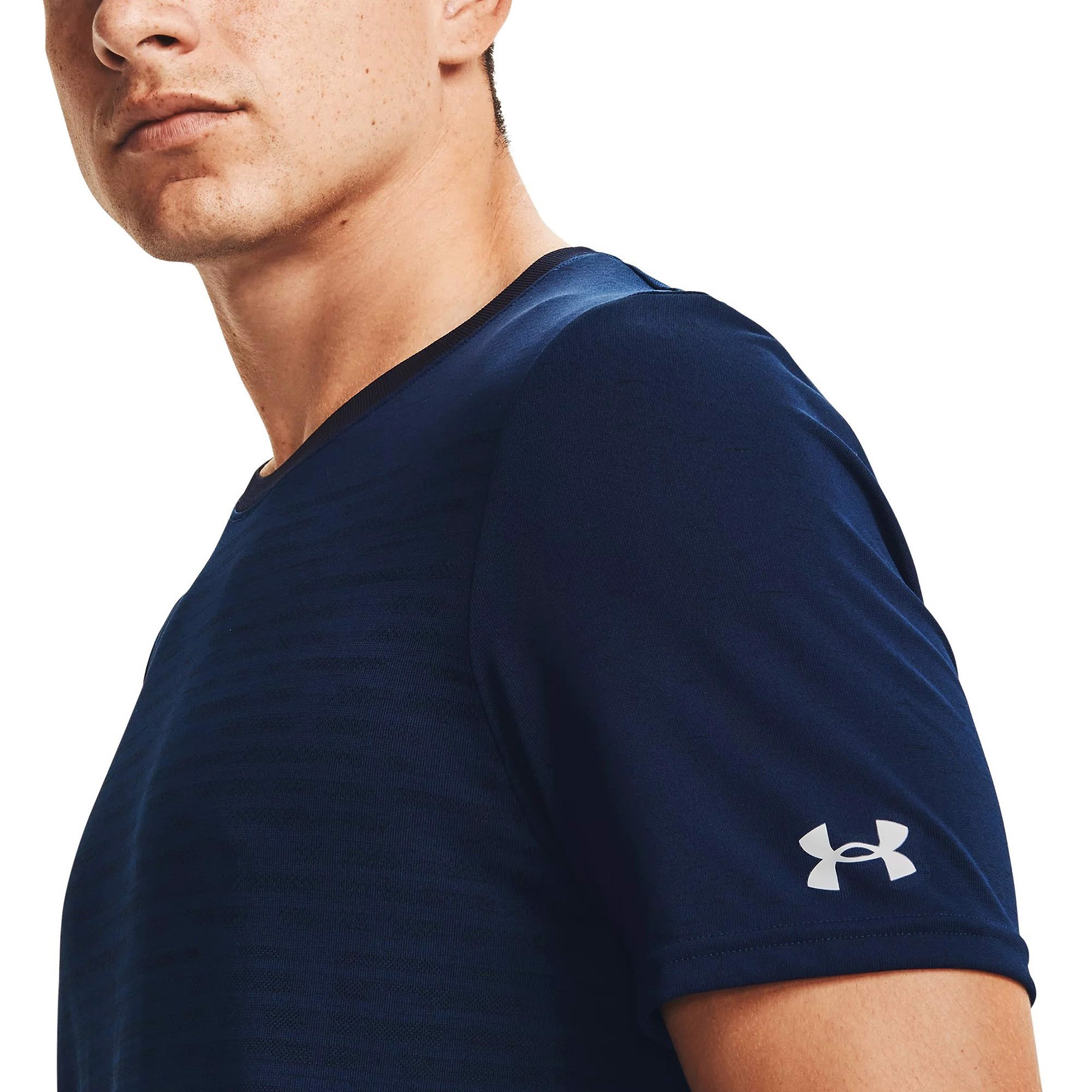 Under Armour - Áo thun nam Tee Seamless Wordmark Training SS21-1361