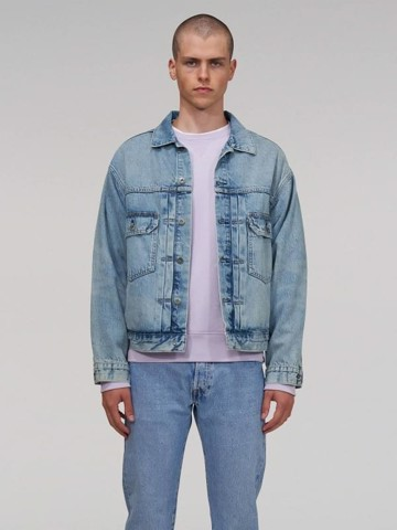 Levi's - Áo khoác jeans nam Men Made & Crafted® Oversized Trucker Levis NA-0006