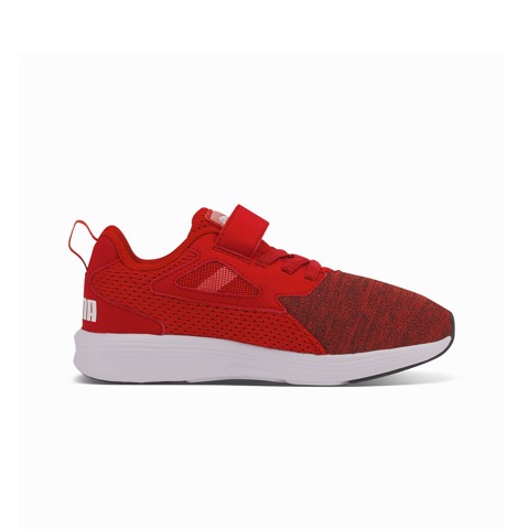 Puma - Giày thể thao thời trang trẻ em Rupture High Risk Red Lifestyle FW20-1936