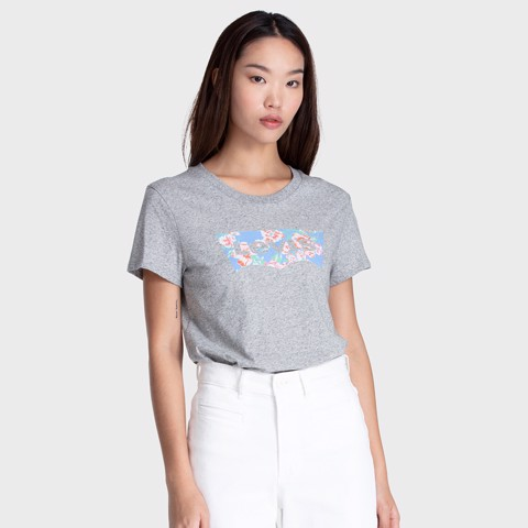 Levi's - Áo thun nữ The Perfect Tee Filled Batwing Smokestack Heath Women Levis TH-0896