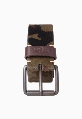 Levi's - Dây nịt nam Woodman Camo Belt Fixed Sizes Dark Green Levis WO-0417