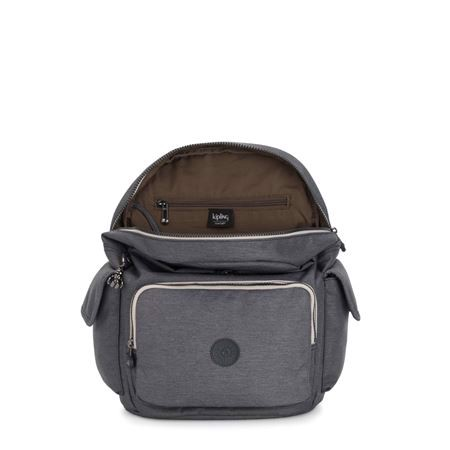 Kipling - Ba lô City Pack Charcoal BA21-429V