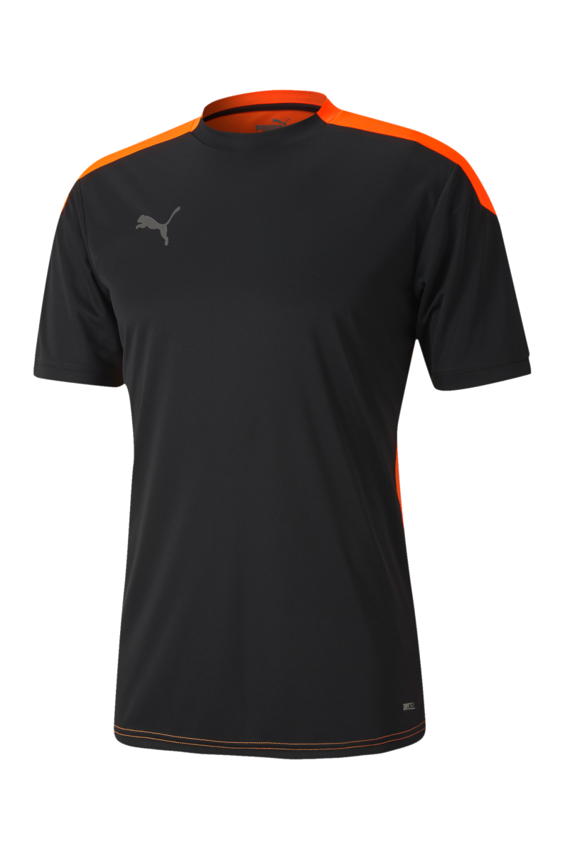 Puma - Áo thun Nam Ftblnxt Puma Black-Shocking Orange T-Shirt SS20-6568