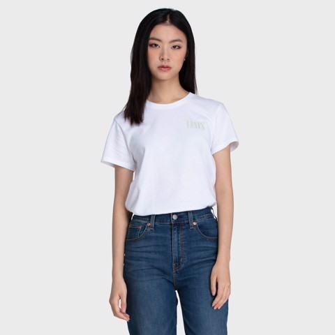 Levi's - Áo thun nữ nữ The Perfect Tee Serif_Performance Women Levis TH-0966