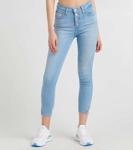 Levi's - Quần jeans lửng 721 skinny (collection high rise) nữ 721 Exposed Buttons Ank Women Levis 72-0001