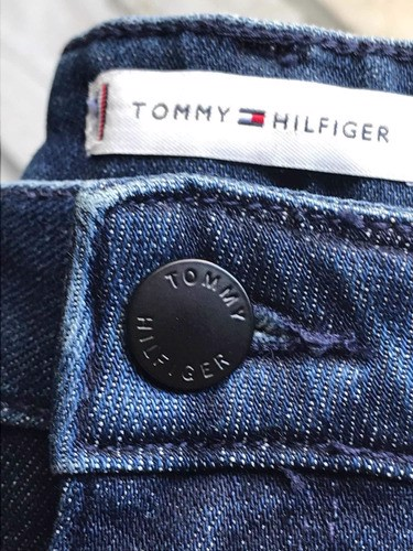 Tommy Hilfiger - Quần jeans nữ Heritage Rome Straight AP21-7O22