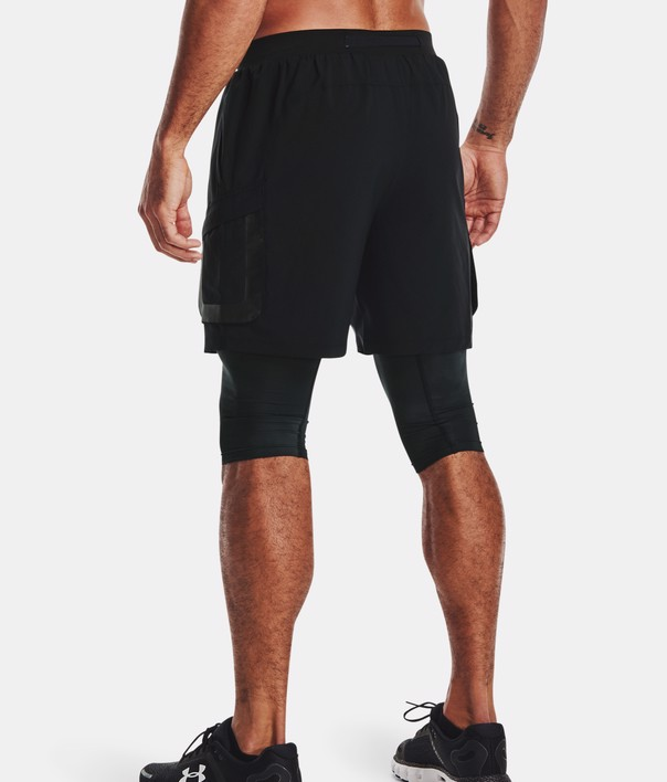 Under Armour - Quần ngắn nam Run Anywhere 2N1 Short Running SS21-1361