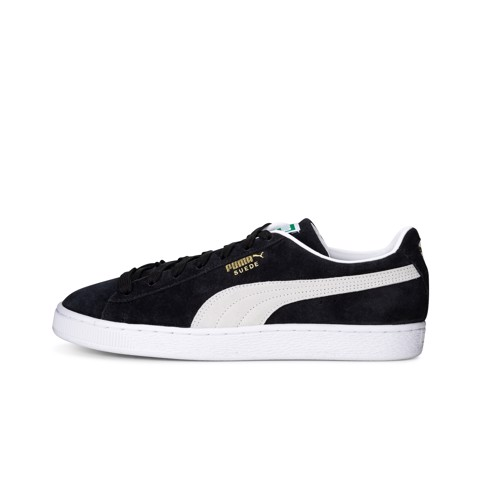 Puma - Giày thể thao thời trang nam Suede Classic XXI Black White Lifestyle SS21-3749
