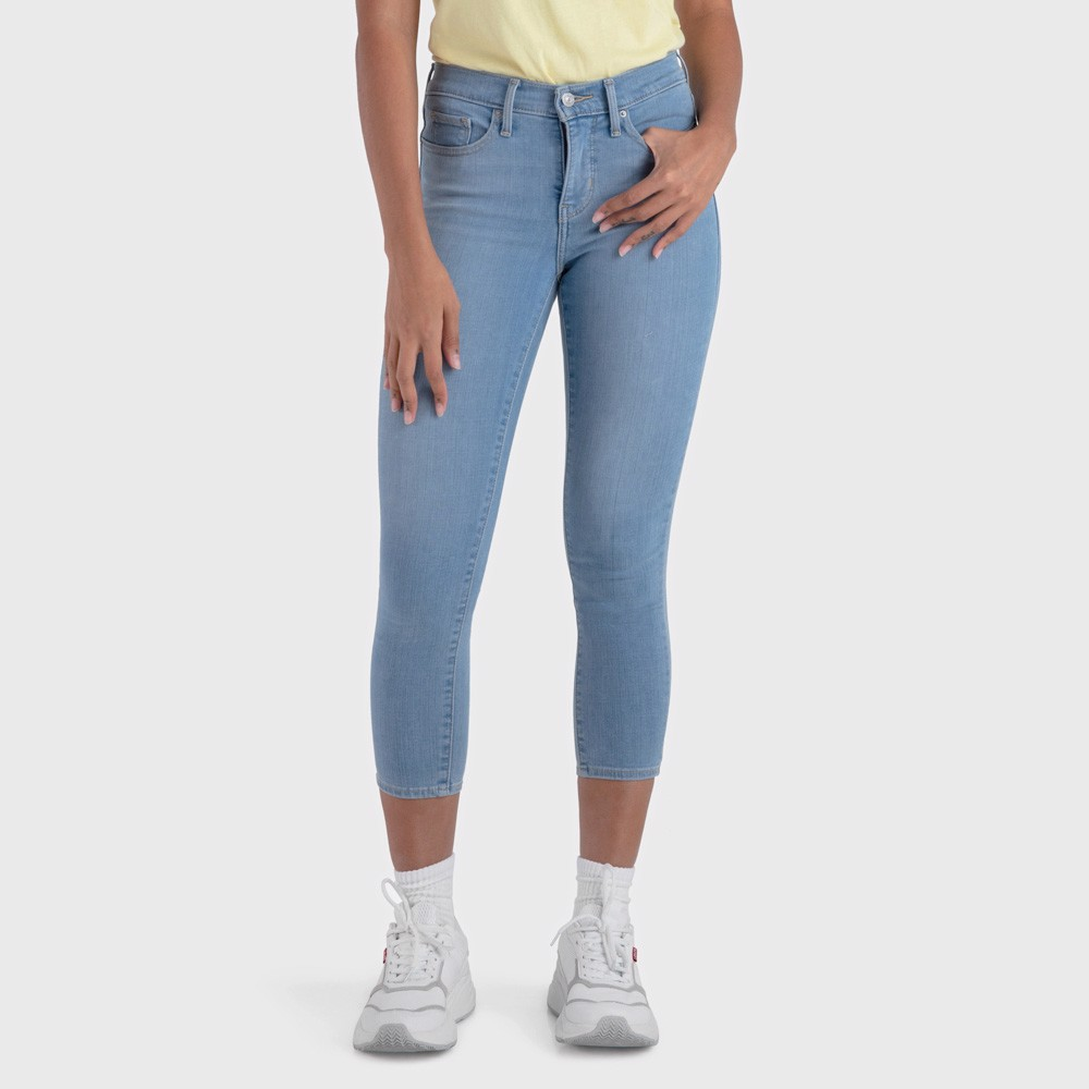 Levi's - Quần jeans lửng nữ 311 Shaping Skinny Crop Women Levis 31-0003