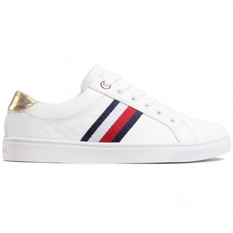 Tommy Hilfiger - Giày nữ Corporate Cupsole Sneaker FW21-5522