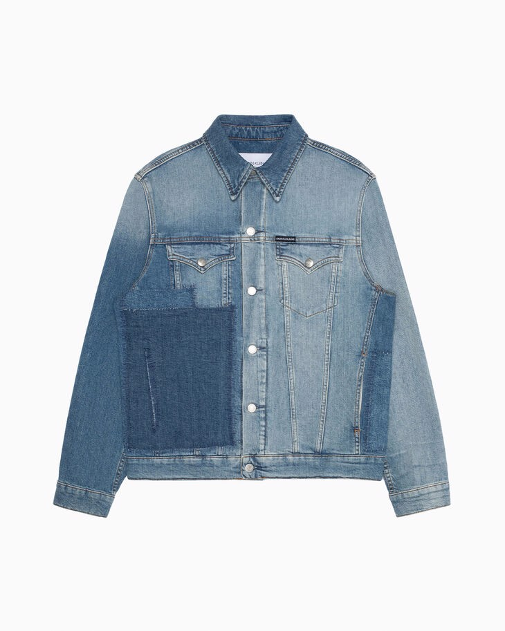 Calvin Klein - Áo khoác jeans Nam CK Foundation Slim Denim Jacket AP11-2969