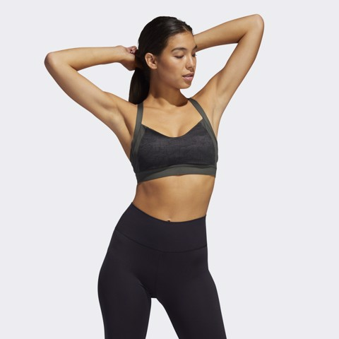 adidas - Áo ngực Nữ Am Jacqrd Bra Workout Bra Training Women FW19-EA52